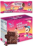 Zeek Kids Protein Bar | 30% Less Sugar, 9g Protein, All Natural Ingredients | Nutritious Snack Bars...