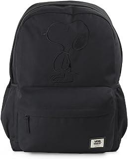 VANS WM Peanuts Tonal Backpack Black School Bag VA3D8RBLK - VANS Bags 6ed8270301