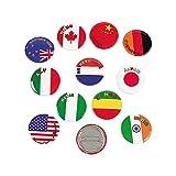 Flags Around The World Mini Bu...
