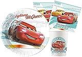 Ciao- Cars Kit Mesa Fiesta, Color rojo (Y6168)