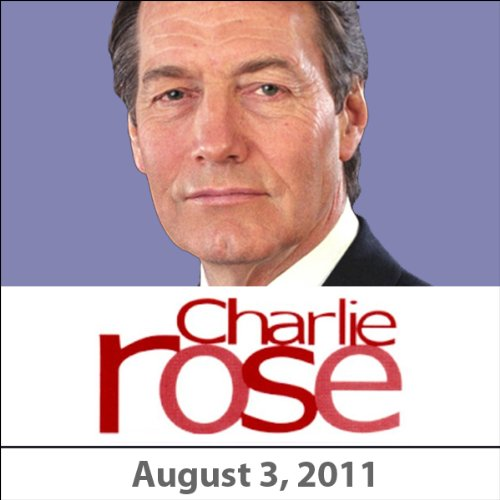 Charlie Rose: Arnold Palmer, August 3, 2011 audiobook cover art