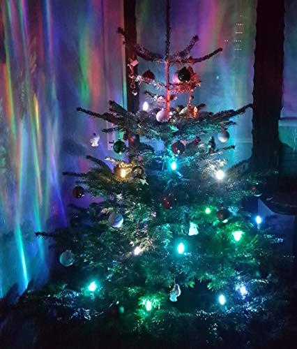 TG340146RGB 24 LED RGB Farbwechsel bunt Weihnachtskerzen Kerzen Weihnachtslichter Christbaumbeleuchtung Trango