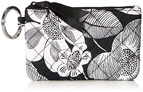 Vera Bradley Women's Cotton Zip ID Case Wallet, Bedford Blooms, One Size