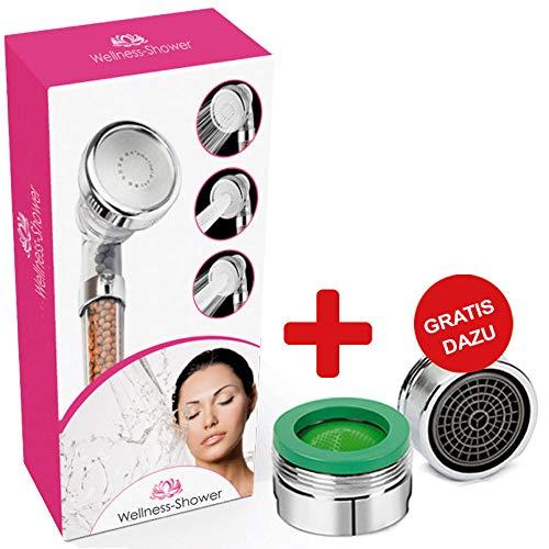 Wonder Shower | Premium Duschbrause mit entspannender Massagewirkung | Wellness für Zuhause (1)