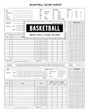 BG Publishing Basketball Score Record: Basketball Scoring Game Sheet Level Keeper Book for Many Details of a Games, Including a Roster and Player Stats (Fouls, Scoring, Free Throws)