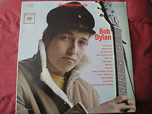 BOB DYLAN s/t debut LP Mint- PC 8579 Vinyl 1962 Archive 1970's Press Stereo