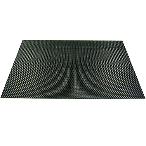 ARRIS 200X300X3.0MM 100% 3K Carbon Fiber Plate Plain Weave Panel Sheet 3mm Thickness(Glossy Surface)