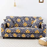 WXQY Fundas elásticas Funda de sofá elástica para Mascotas Funda de sofá con protección para Mascotas Funda de sofá con Todo Incluido en Forma de L Fundas de Muebles A18 1 Plaza