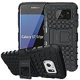 ykooe Coque Samsung Galaxy S7 Edge, Housse Samsung S7 Edge Case TPU et Béquille...
