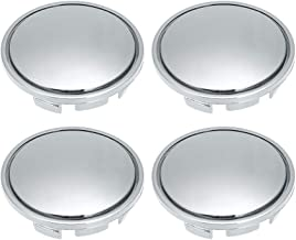 KKmoon - 4 Tapas de buje, 56 mm, Universal, ABS, para la mayoría de los Coches