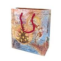 パンチスタジオ 【クリスマス】 ペーパーギフトバッグ Sサイズ (サンタのプレゼント) 57037
