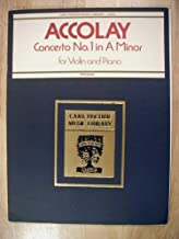Accolay Concerto No. 1 in A Minor for Violin and Piano (Carl Fischer Music Library - L518)