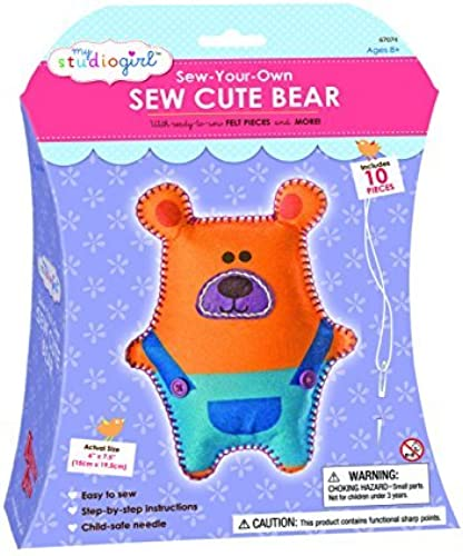 My Studio Girl Sew Cutes - Bear by U-Create