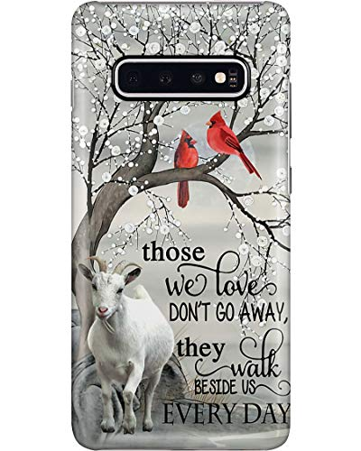 Goat Every Day Phone Case for Samsung Galaxy S9 Plus - Silicone Case with 3D Printed Design, Slim Fit, Anti Scratch, Shock Proof, IMD Soft TPU Cover Case