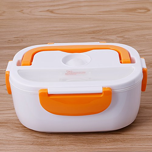 Fantastic Deal! Fifimin Portable Heated Lunch Box 220V Electric Heating Truck Oven Cooker Food Warme...
