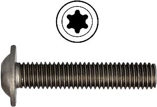 D´s Items®   platte kopschroeven met flens en binnenzeskant (ISR) - M12x45 - ISO 7380 - roestvrij staal A2 - [200 stuks] -...