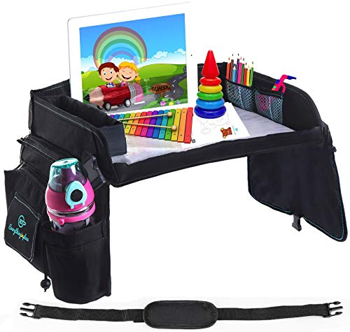 Kids Car Seat Travel Tray, for Active Toddlers, 16.1 x 1.7 Inches (1 Unit)