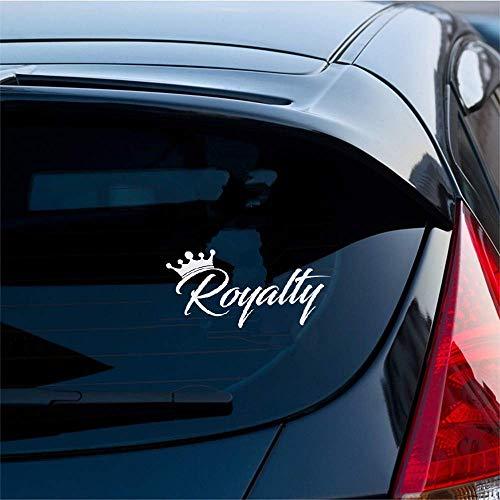 Autoaufkleber Royalty Sticker Crown Racing lustige Drift Auto Wrx Fenster Aufkleber für Auto Laptop Fenster Aufkleber