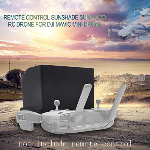 95sCloud Fernbedienung Telefonmonitor Sonnenhaube Sonnenschutz für DJI Mavic Mini/Mavic 2 / Mavic PRO/Mavic AIR und Spark Drone Telefon Monitor Sun Hood Sonnenschirm Telefonmonitor