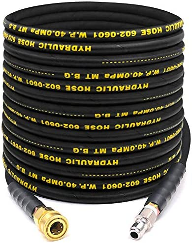 AgiiMan High Pressure Washer Hose 1 4 Inch Power Washer Hose Replacement 50 FT Industrial Grade product image