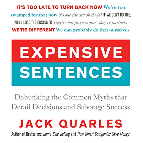 Expensive Sentences audiobook cover art