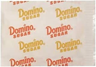 Domino Premium Pure Cane Granulated Sugar Packets - Bulk Box Of 2000 Packets