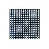 Panel de Matriz LED RGB 832 Pixels Matrix Digital Flexible Dot Matrix LED direccionable Individualmente 8 * 32 Pixeles WS2812 Pantalla programada con LED Flexible Digital Individual (Color : 16 * 16)