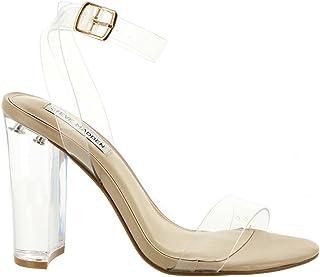 ff829ffca39 Amazon.com  Clear - Flats   Sandals  Clothing