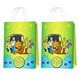 Scooby Doo Party Supplies - 16pcs Scooby Doo Party Bags Goody Favor...