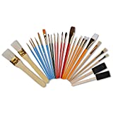 CONDA Paint Brushes Starter Kit 25-Piece Assorted Sizes