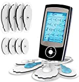 Electroestimulador digital, para aliviar el dolor muscular y el fortalecimiento muscular,...