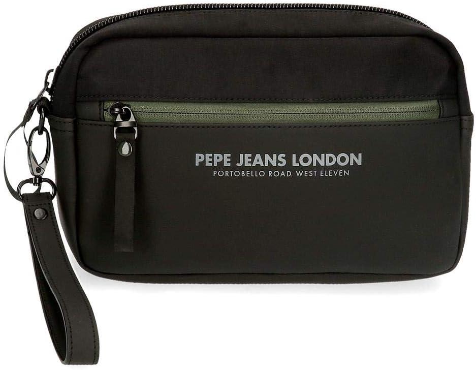 Pepe Jeans Men's Handbag 24 5x15x5 Black cms Free shipping anywhere Phoenix Mall in the nation