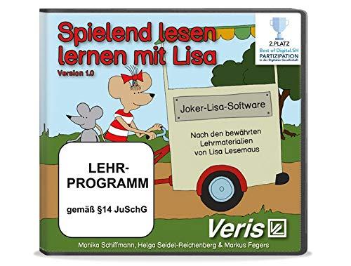Spielend lesen lernen mit Lisa: Joker-Lisa-Software