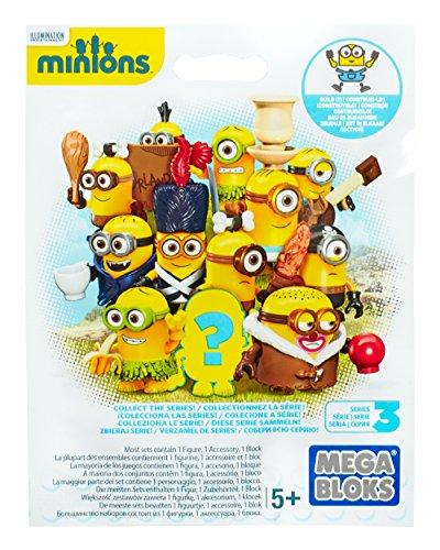 Mega Bloks - Gru - Mini Figura Minion de la Película (varios modelos) , color/modelo surtido