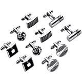 Lictin Men's Cufflinks Cuff Link...