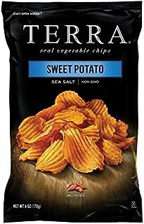 Terra Sweet Potato Vegetable Chips, 6 Oz (Pack of 6)
