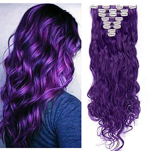 comprar pelucas mujer pelo natural violeta on-line