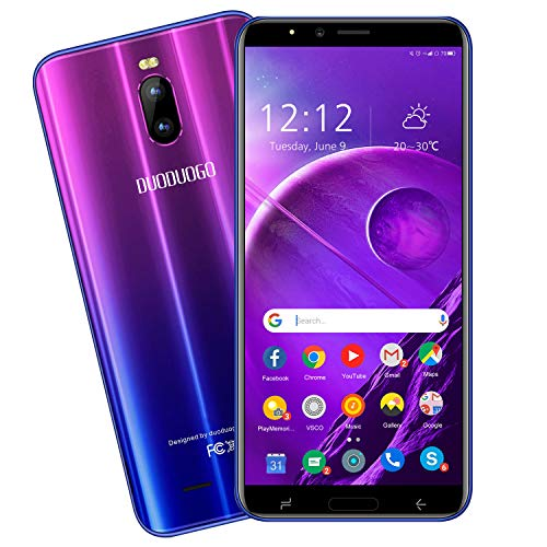 Moviles Libres 4G, DUODUOGO J6+ Smartphone Libre Android 9.0 Quad Core 6...