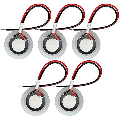 5pcs 1.7 MHz Disco De CeráMica Con Cable Anillo De Sellado Para Atomizador De Niebla UltrasóNica Fabricante Nebulizador Humidificador Accesorios 20mm