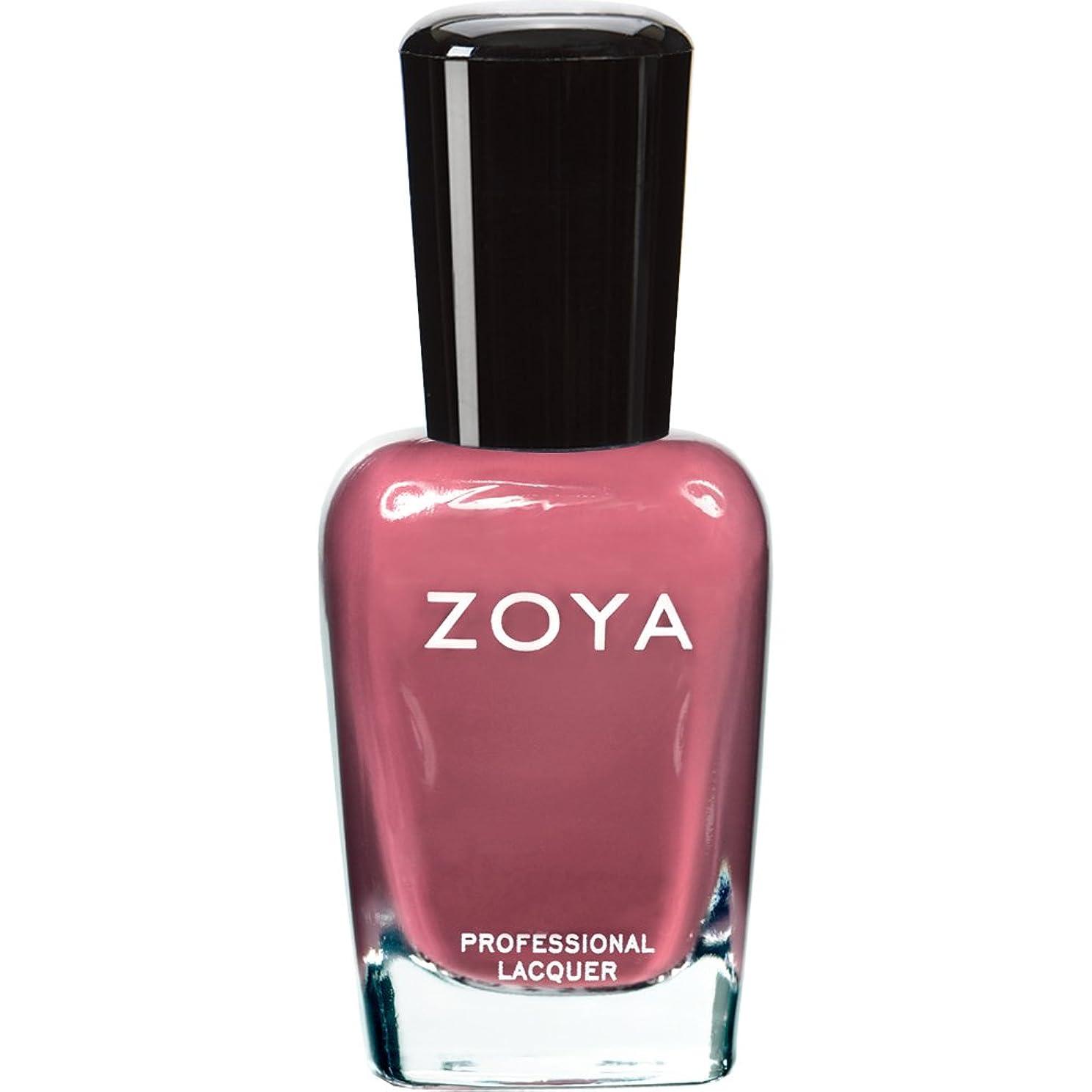 愛人チャンピオンインペリアルZOYA ゾーヤ ネイルカラー ZP422 COCO ココ 15ml なめらかな深いモーブ マット 爪にやさしいネイルラッカーマニキュア