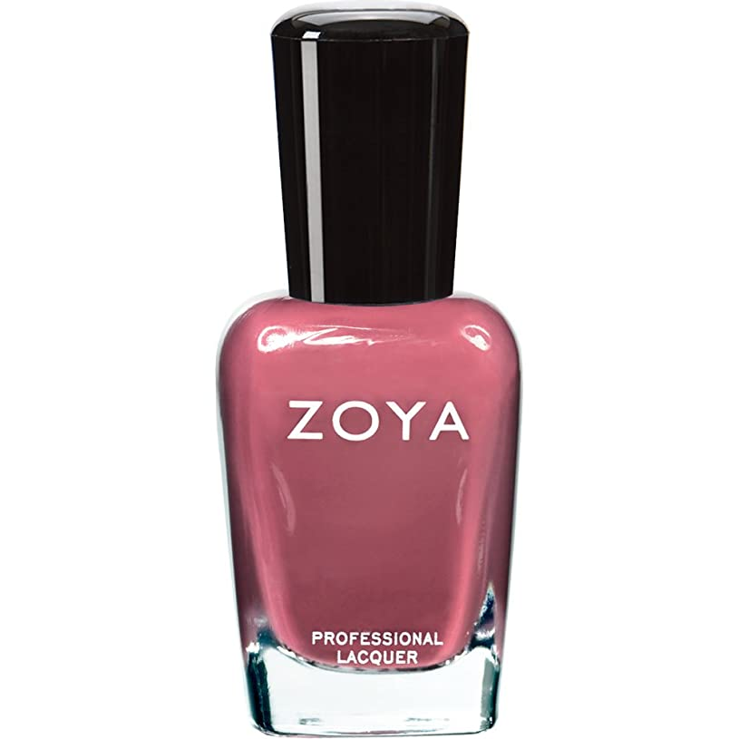 カナダ広い良心ZOYA ゾーヤ ネイルカラー ZP422 COCO ココ 15ml なめらかな深いモーブ マット 爪にやさしいネイルラッカーマニキュア