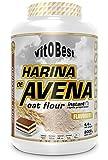 Harina de Avena Sabores Variados - Suplementos Alimentación y Suplementos Deportivos - Vitobest (Chocolate, 2 Kg)