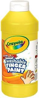 Crayola Fingerpaint, Yellow, 32 Ounces, Washable Kids Paint, Ages 3+