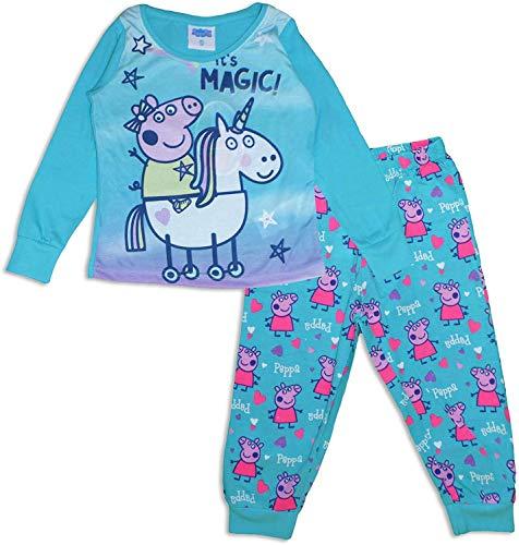 Peppa Pig - Pijama niña Turquesa Turquesa 6 años