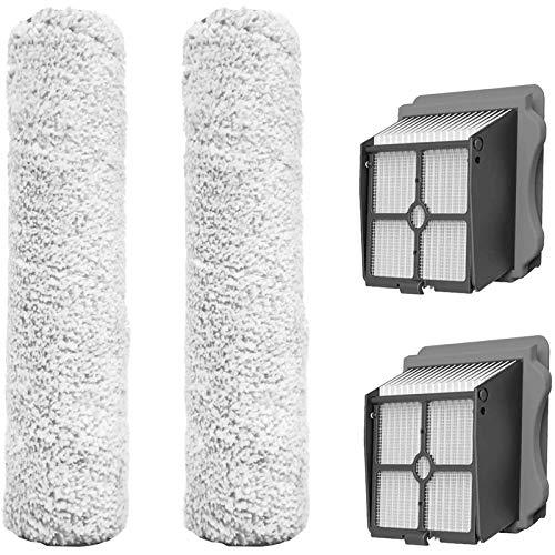 Timagebreze - Rullo di ricambio e set HEPA per aspirapolvere Secco / umido senza fili IFloor 3 / Floor One S3