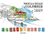 Nice la Belle à colorier