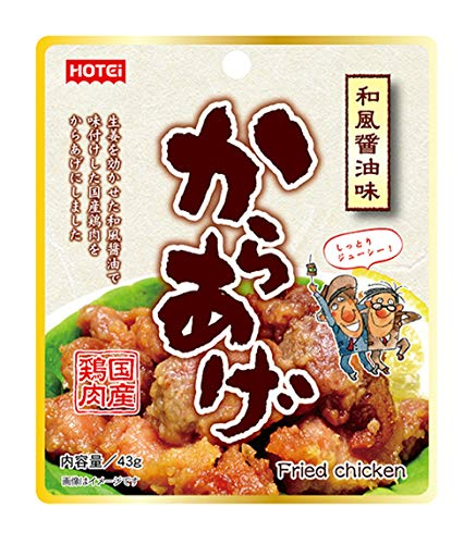ホテイフーズコーポレーション からあげ和風醤油味 43g×6袋
