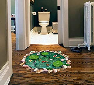 3d Three-dimensional Simulation Drawing Living Room Bedroom Bathroom Waii Stickers