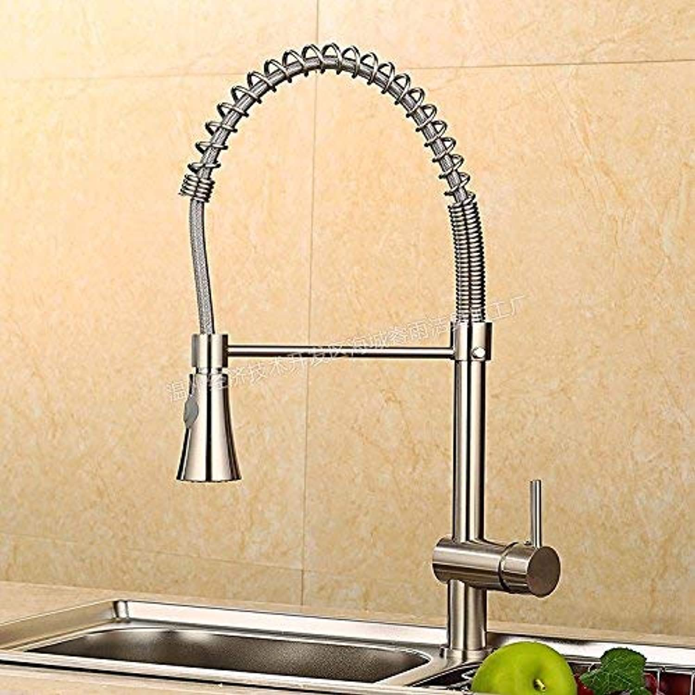 ZHAS Küchensalattpfe sinkt heies und kaltes Wasser mischen Wasserhahn Küchenarmatur ziehen Kupfer einzigen Aufzug Aufzug Küchenarmatur