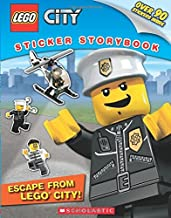 LEGO? City Sticker Storybook: Escape from Lego City! [Paperback] [Jan 01, 2017] NILL